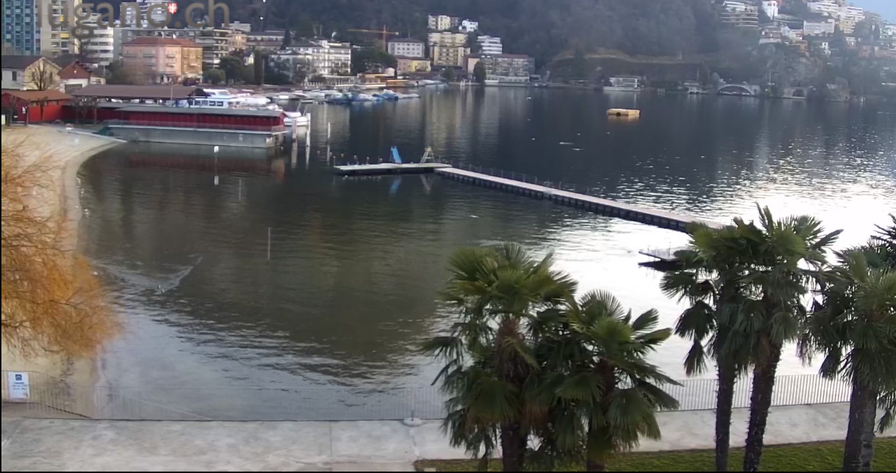 Webcam - Lido di Lugano