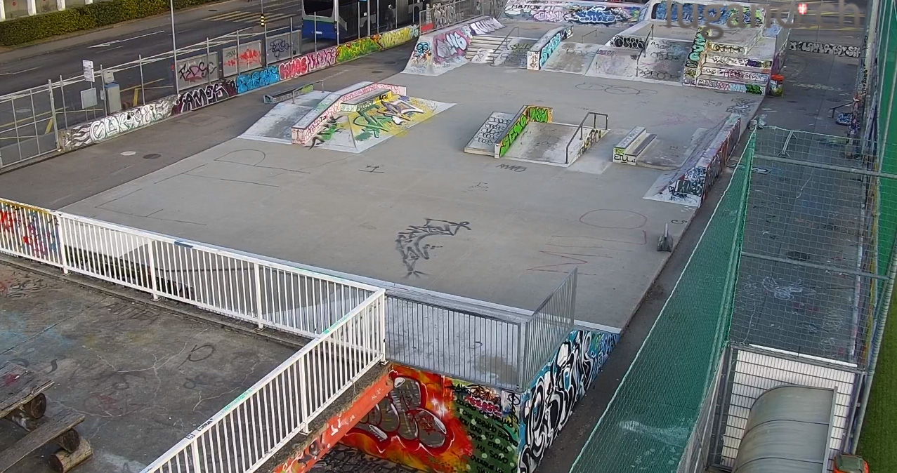 Webcam - Skatepark